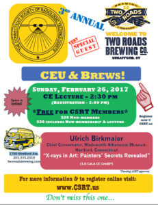 CEU's & Brews! @ Two Roads Brewing Co.   Stratford   Connecticut   United States